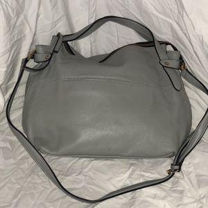 Grey Midsize Bag
